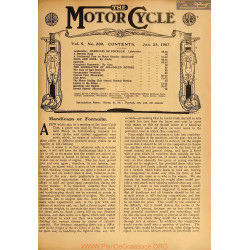 The Motor Cycle 1907 01 January 23 Vol05 N0200 Handicaps Or Formulae