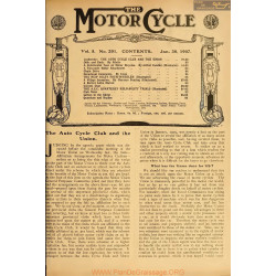 The Motor Cycle 1907 01 January 30 Vol05 N0201 The Auto Cycle Club And The Union