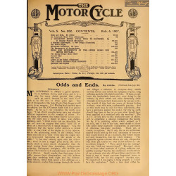 The Motor Cycle 1907 02 February 06 Vol05 N0202 Odds And Ends