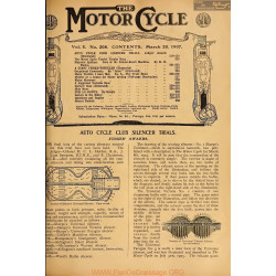 The Motor Cycle 1907 03 March 20 Vol05 N0208 Auto Cycle Club Silencer Trials