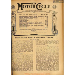 The Motor Cycle 1907 05 May 08 Vol05 N0215 Experiences With A Powerful Tricar