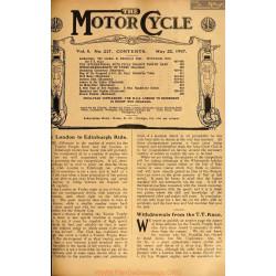 The Motor Cycle 1907 05 May 22 Vol05 N0217 London To Edinburgh Ride