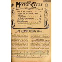 The Motor Cycle 1907 06 June 05 Vol05 N0219 The Tourist Trophy Race