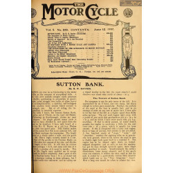 The Motor Cycle 1907 06 June 12 Vol05 N0220 Sutton Bank