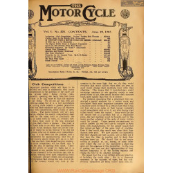The Motor Cycle 1907 06 June 19 Vol05 N0221 Club Competitions