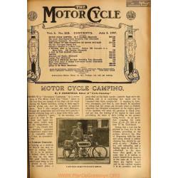 The Motor Cycle 1907 07 July 03 Vol05 N0223 Motor Cycle Camping