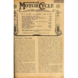The Motor Cycle 1907 07 July 17 Vol05 N0225 Protection Free Mud