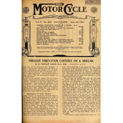 The Motor Cycle 1907 07 July 24 Vol05 N0226 Through Thirty Four Counties On A Sidecar