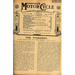 The Motor Cycle 1907 08 August 07 Vol05 N0228 The Pyrenees