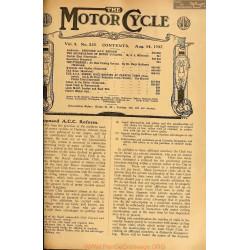 The Motor Cycle 1907 08 August 14 Vol05 N0229 The Organisationof Motor Sycles