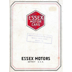 Essex 1919 Sales Brochure
