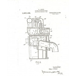 Essex 1920 4 Cooling System Patent Drawings