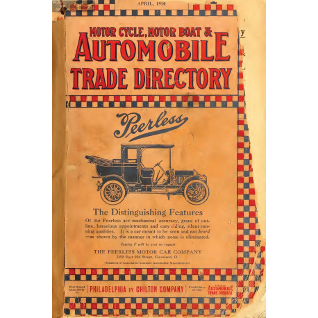 Trade Motorcycle For Car >> Automobile Trade Directory Motorcycle Motor Boat April 1910