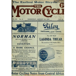 The Motor Cycle 1907 01 January 02 Vol05 N0197 Our Fifth Year