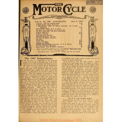 The Motor Cycle 1907 01 January 09 Vol05 N0198 The 1907 Competitions