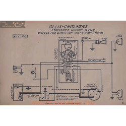 Allis Chalmers Briggs Stratton 6volt Schema Electrique