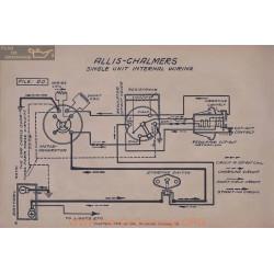 Allis Chalmers Single Unit Schema Electrique
