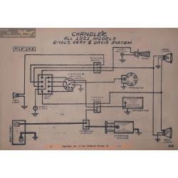 Case All Model 6volt Schema Electrique 1921 Gray & Daviss