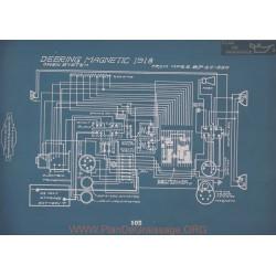 Deering Magnetic Schema Electrique 1918 V2