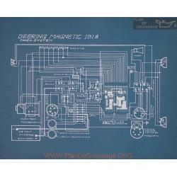 Deering Magnetic Schema Electrique 1918