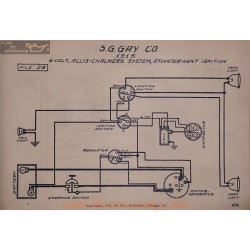 Sg Gay Co 6volt Schema Electrique 1915 Allis Chalmers Atwater Kent