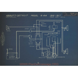 Abbott Detroit 6 44 Schema Electrique 1916 1917 V2