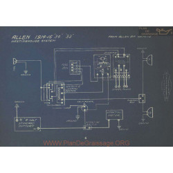 Allen 34 33 Schema Electrique 1914 1915 V2