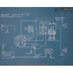 Allen 34 33 Schema Electrique 1914 1915