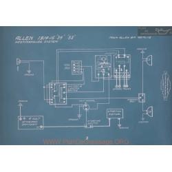 Allen 34 33 Westinghouse Schema Electrique 1914 1915