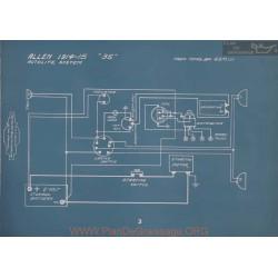 Allen 35 Autolite Schema Electrique 1914 1915