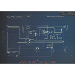 Allen 35 Schema Electrique 1914 1915 V2