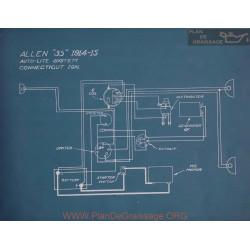 Allen 35 Schema Electrique 1914 1915