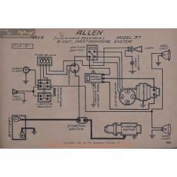 Allen 37 6volt Schema Electrique 1916 Westinghouse