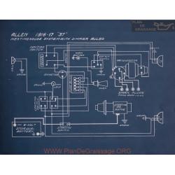 Allen 37 Schema Electrique 1916 1917