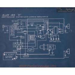 Allen 37 Schema Electrique 1916