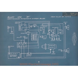 Allen 37 Westinghouse Dimmer Bulbs Schema Electrique 1916