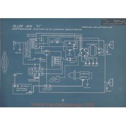 Allen 37 Westinghouse Dimming Resistance Schema Electrique 1916