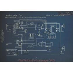 Allen 37 Westinghouse Schema Electrique 1916