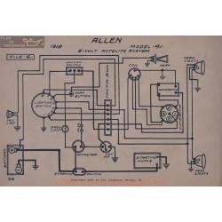 Allen 41 6volt Schema Electrique 1918 Autolite V2