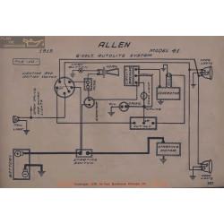 Allen 41 6volt Schema Electrique 1919 Autolite V2