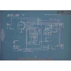 Allen 41 Schema Electrique 1918 Autolite