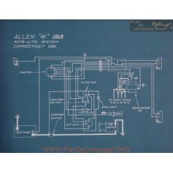 Allen 41 Schema Electrique 1918