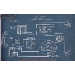 Alter 12volt Schema Electrique 1915 Remy