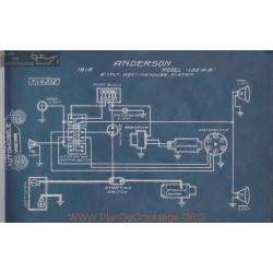 Anderson 100 A B 6volt Schema Electrique 1916 Westinghouse