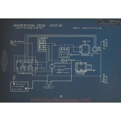 Anderson 100a 100b Schema Electrique 1916 Westinghouse