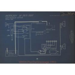 Anderson 20 Schema Electrique 1919 1920 Westinghouse