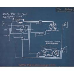Anderson 20 Schema Electrique 1919