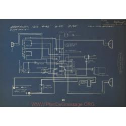 Apperon 4 45 6 45 58 Schema Electrique 1914 Bijur