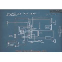 Apperson 4 40 6 45 Schema Electrique 1915 V2