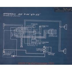Apperson 4 45 4 55 Schema Electrique 1913